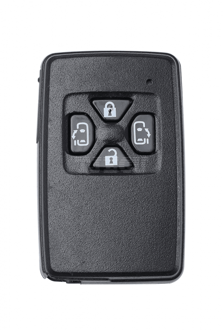 Toyota ELFA smart card black 4 key