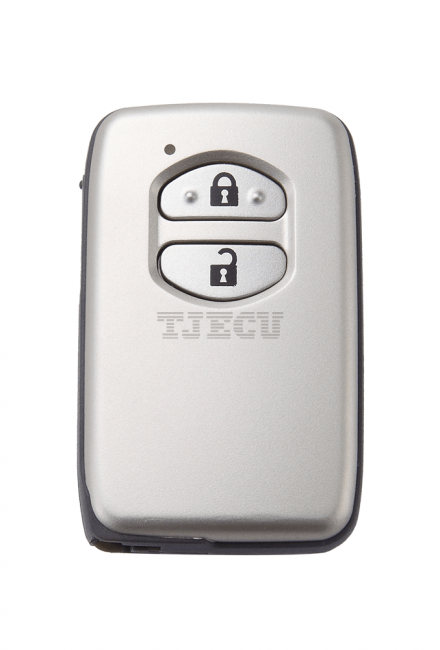 Toyota cooluze & aggressive smart card 2 keys