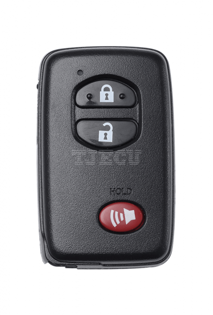 Toyota sharp & Prius smart card black 3-1 key