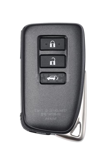 New Lexus 3-1 key