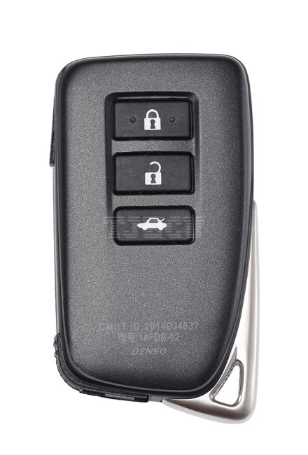 New Lexus 3 key