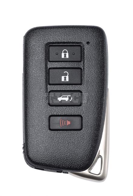 New Lexus 4-key